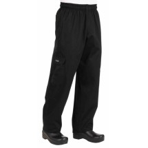 Chef-Works-CPBL-Black-Cargo-Chef-Pants