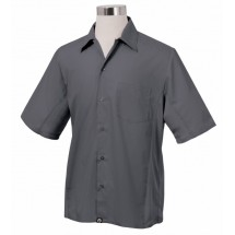 Chef Works CSMV-GRY Men's Cool Vent Universal Shirt, Gray