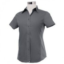 Chef Works CSWV-GRY Universal Cool Vent Women's Gray Shirt