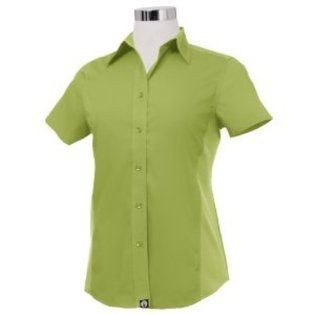 Chef Works CSWV-LIM Universal Cool Vent Women's Lime Shirt