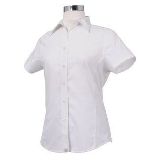 Chef Works CSWV-WHT Universal Cool Vent Women's White Shirt