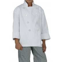Chef Works CWBJ Kid's Chef Coat, White