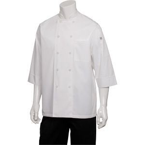Chef Works CWLJ-WHT Marbella Women's Executive Chef Coat, White