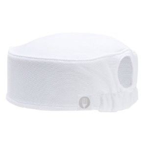 Chef Works DFAO-WHT Total Vent Women's White Beanie