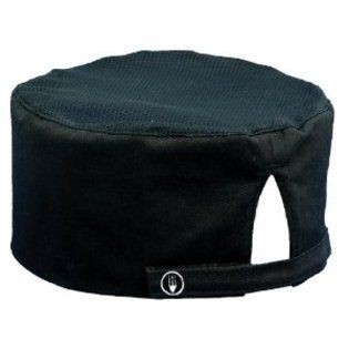 Chef Works DFBB Black Cool Vent Chef Beanie