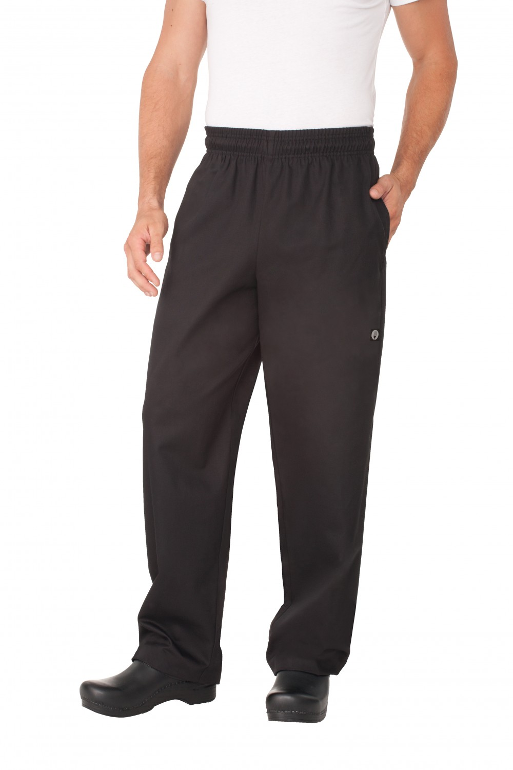 Chef Works EBCP Black Designer Baggy Pants