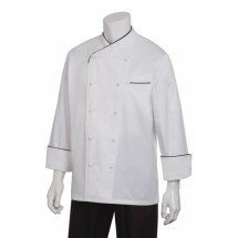 Chef Works ECCB Monte Carlo Egyptian Cotton Chef Coat