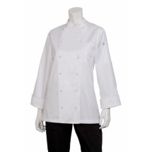 Chef Works ECLA Elyse Womens Egyptian Cotton Chef Coat