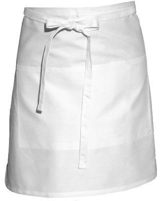 Chef Works F28 Two-Pocket Half Bistro Apron