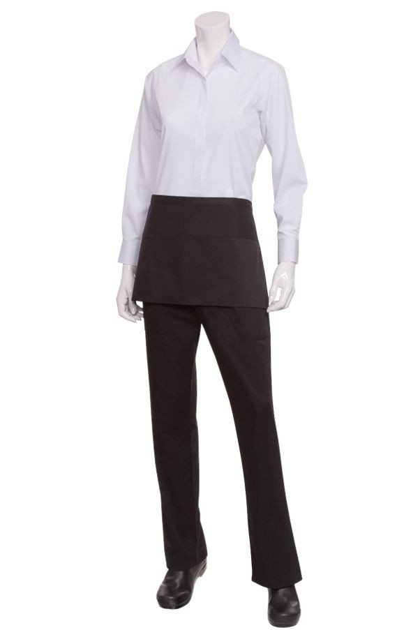 Chef Works F9 Three-Pocket Waist Apron