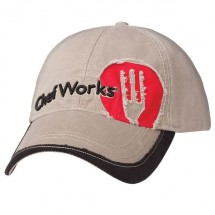 Chef Works HC001 Cotton Cut-Out Logo Chef Cap