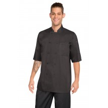Chef Works JLCV-BLK Montreal Cool Vent Basic Chef Coat, Black