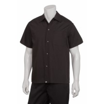 Chef Works KCBL Poly/Cotton Utility Cook Shirt, Black