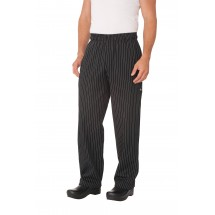 Chef Works PINB Pinstripe Designer Baggy Pants