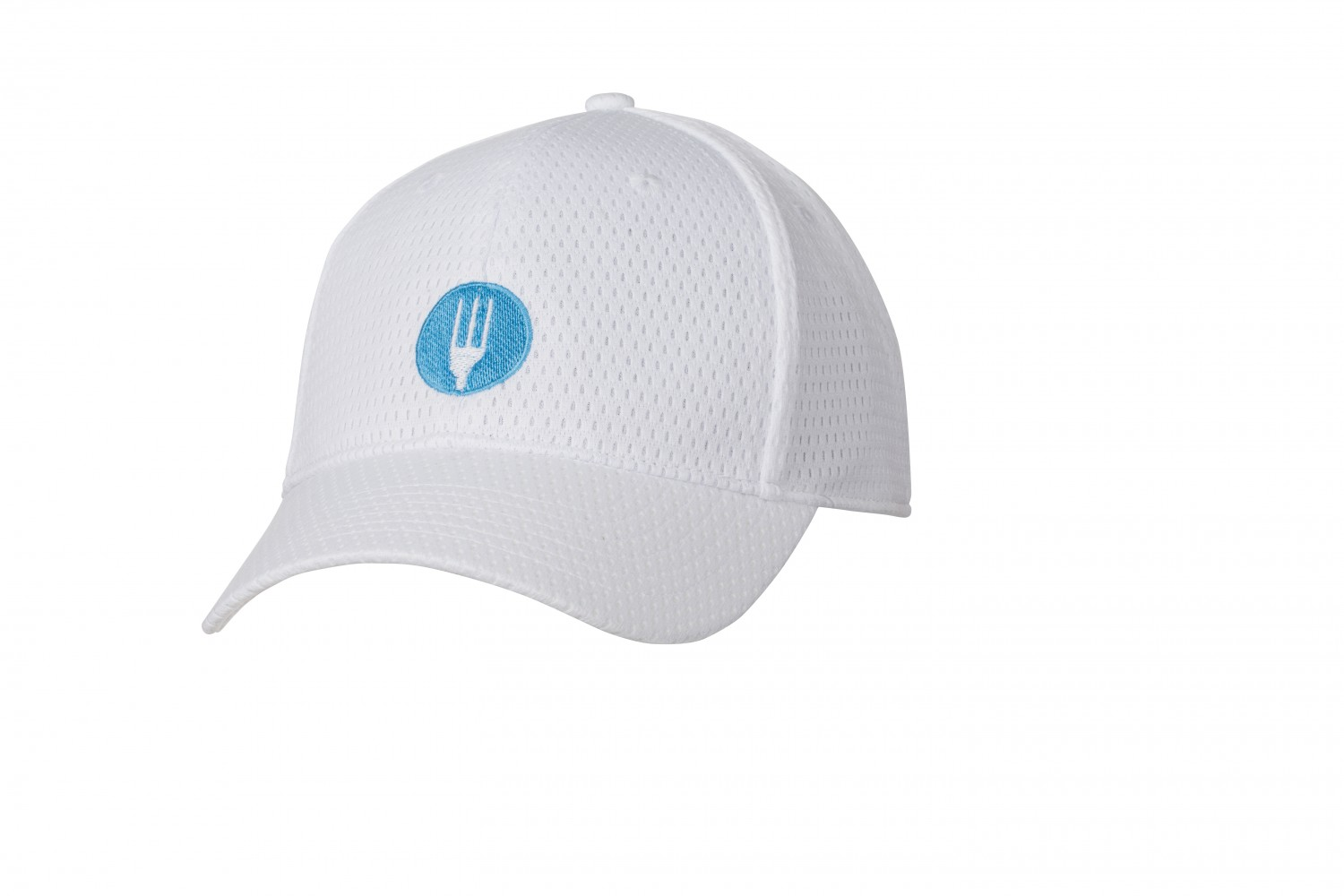 Chef Works PRCV White Cool Vent Baseball Cap with Chef Works Logo