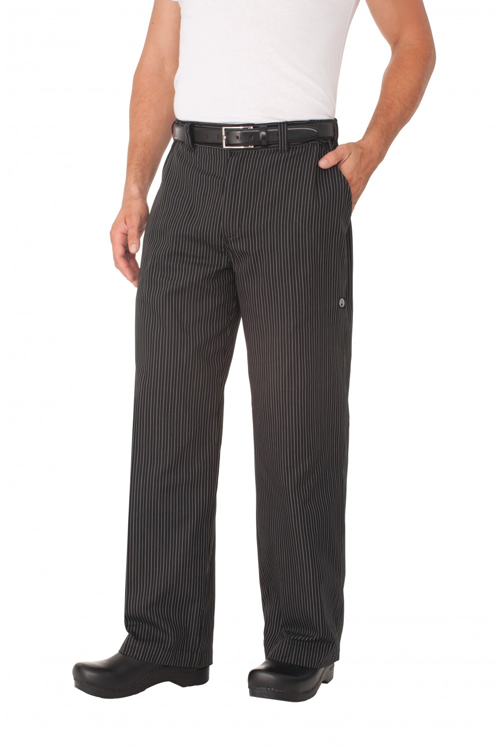 Chef Works PSER-GST Gray Stripe Professional Series Chef Pants