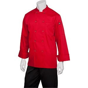 Chef Works REPC Nantes Basic Red Chef Coat