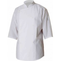 Chef-Works-S100-WHT-3-4-Sleeve-Chef-Shirt--White