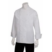 Chef Works SE52 Monza Executive Chef Coat, White