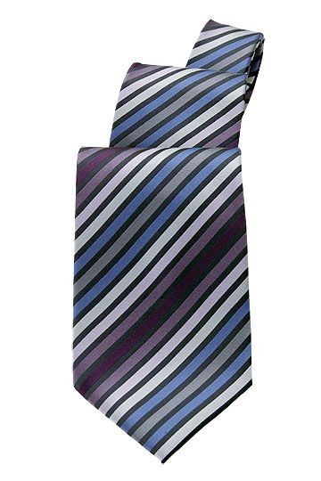 Chef Works TPMS-BPU Blue/Purple Stripe Tie