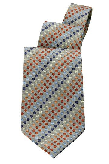 Chef Works TPPD Black Polka Dot Tie