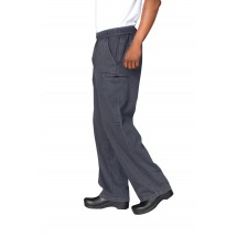 Chef Works UPEW-TWI Twilight Blue Enzyme Utility Chef Pants