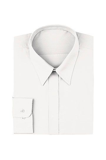 Chef Works W100-WHT Women's White Dress Shirt