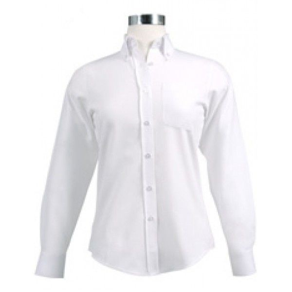 Chef Works W500 Women's Oxford White Shirt