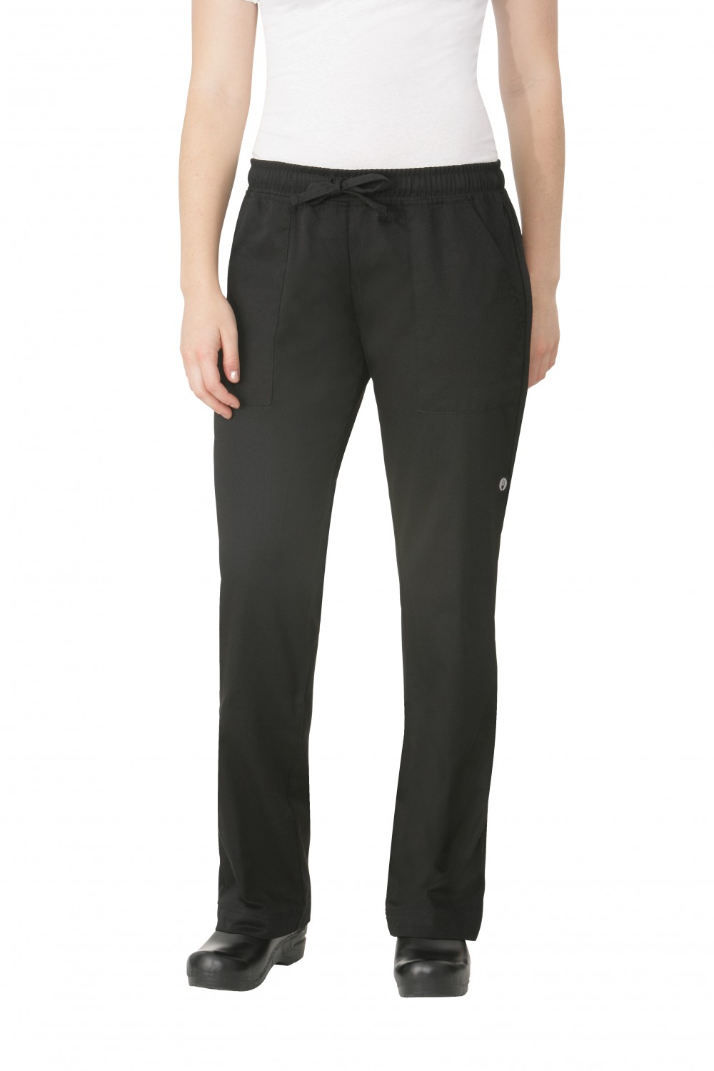 Chef Works WBLK Women's Chef Pants, Black