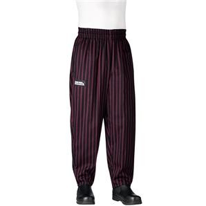 Chefwear 3000-61 Toque Stripe Baggy Chef Pants