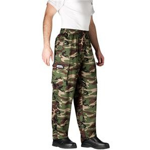 Chefwear 3200-96 Camouflage Cargo Pants