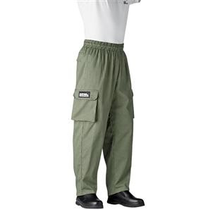Chefwear 3200-98 Olive Houndstooth Cargo Pants