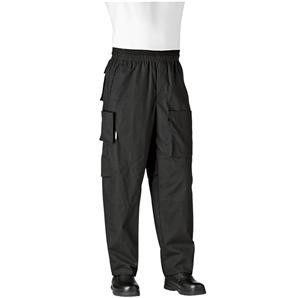 Chefwear 3270-30 Black Performance Chef Pants