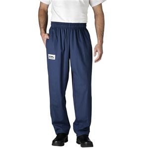 Chefwear 3500-65 Navy/Yellow Pinstripe Ultimate Chef Pants