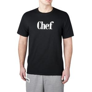 Chefwear 4630-30 Preshrunk Cotton Chef Shirt, Black