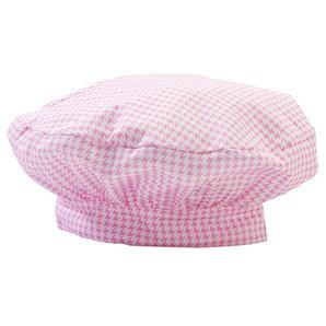 Chefwear 8400-44 Pint Size Kid's Chef Toque, Pink Houndstooth