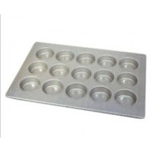 """Chicago Metallic 5300 15 Cup Oversized Muffin Pan 26"""" x 18"""""""