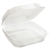 ClearView SmartLock Containers, 49 oz., 8 13/64 x 8 11/32 x 2 29/32, 200/Carton