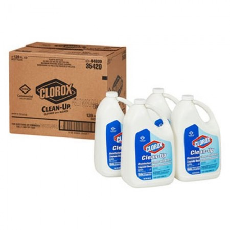 Clorox Clean-Up Disinfectant Cleaner with Bleach, 1 Gallon, 4/Carton