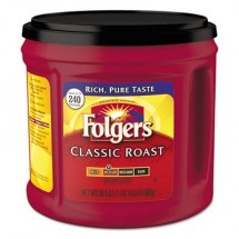 Folgers Coffee, Classic Roast, Ground, 30.5 oz. Canister