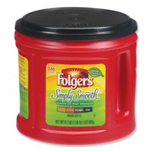 Folgers Coffee, Simply Smooth, 31.1 oz. Canister