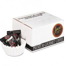 Distant Lands Coffee Coffee Portion Packs, 1.5 oz. Packs, 100% Colombian, 42/Carton
