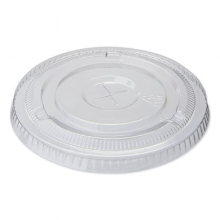 Dixie Cold Drink Clear Cup Lids for 16 oz. Cups, 1000/Carton