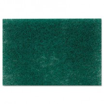 """Commercial Heavy Duty Scouring Pad 86, 6"""" x 9"""", Green, 12/Pack, 3 Packs/Carton"""