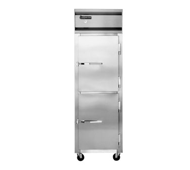 Continental 1F-HD Freezer Reach-In One Section Solid Door
