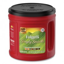Folgers Country Roast Coffee, Country Roast, 25.1 oz. Canister, 6/Carton