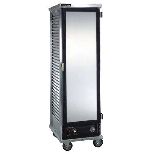 CresCor130-1836D Non-Insulated Mobile Heated Cabinet