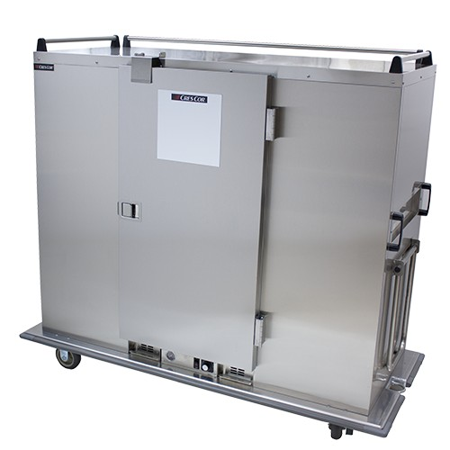 CresCor EB-150XX 3-Shelves Insulated Heated Mobile Banquet Cabinet