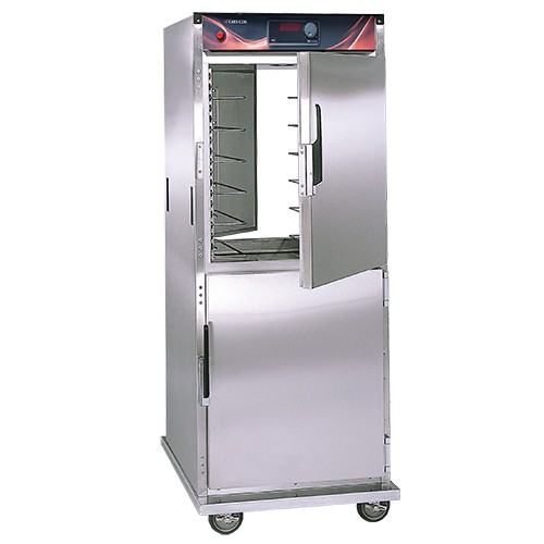 CresCor H-137-PSUA-12D Insulated Pass-Thru Mobile Heated Cabinet