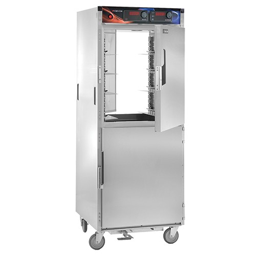 CresCor H-137-PWSUA-12D AquaTemp Pass-Thru Insulated Stainless Steel Holding Cabinet